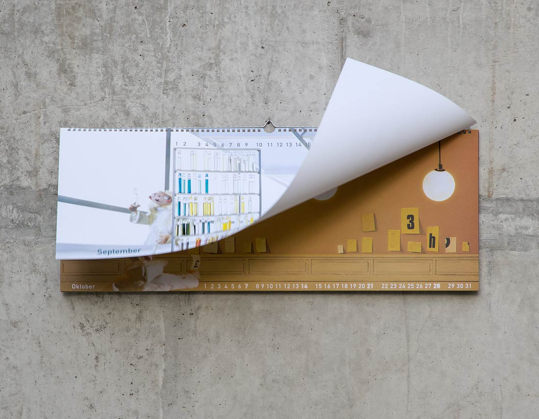 Kalender-Design in limitierter Auflage