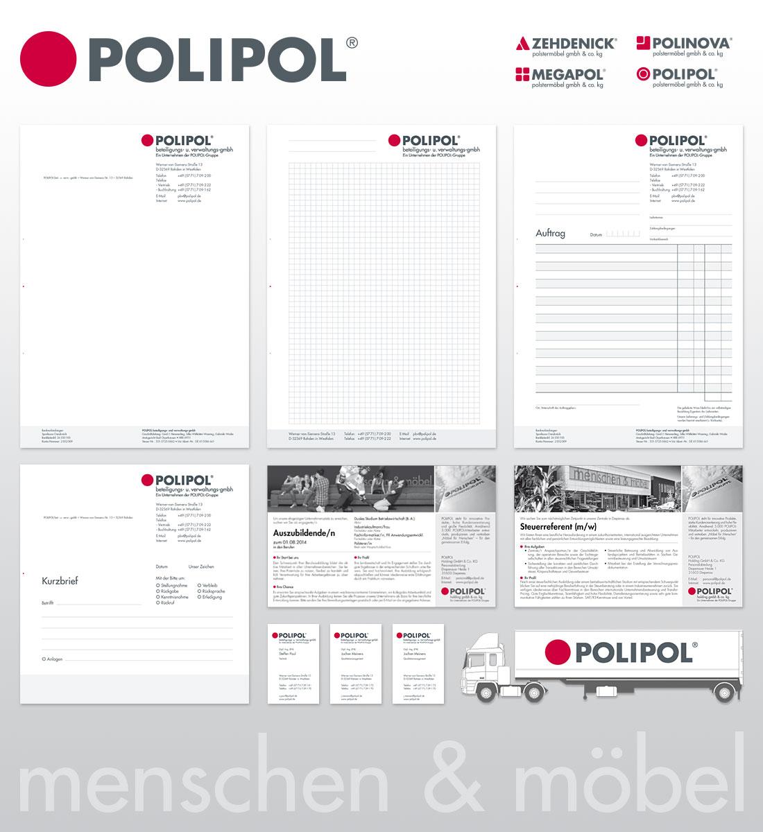 TE + TE Werbeagentur in Paderborn und OWL | POLIPOL Polstermöbel