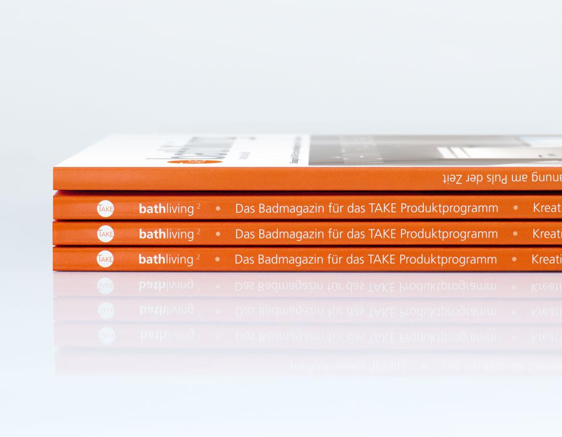 Klebebindung und Magazinrücken-Design