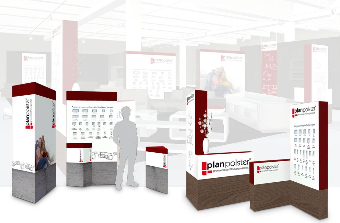 POS-Display-Visualisierung für den Möbelhandel