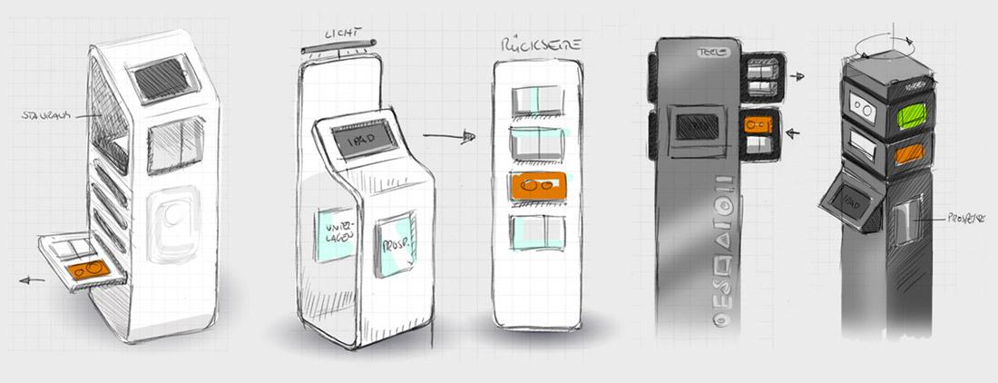 Ideenvisualisierung für Display-Systeme als Skribble