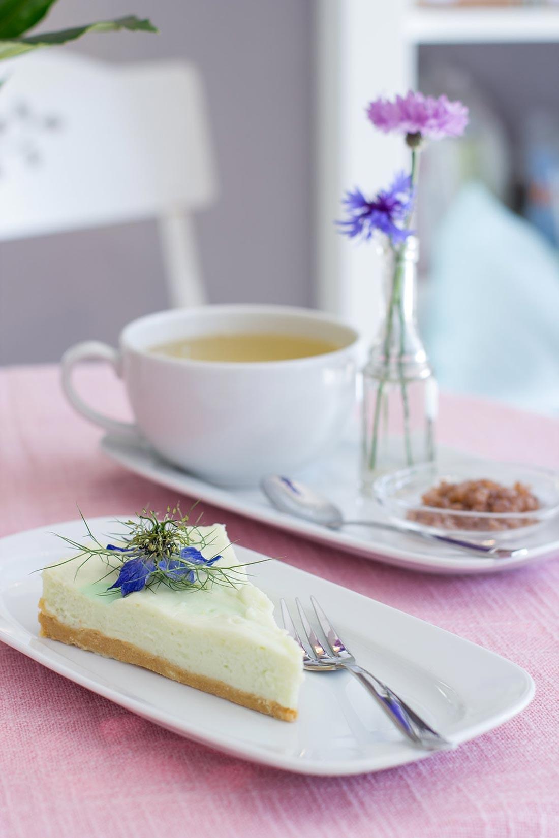 Kuchen- und Tee-Gedeck