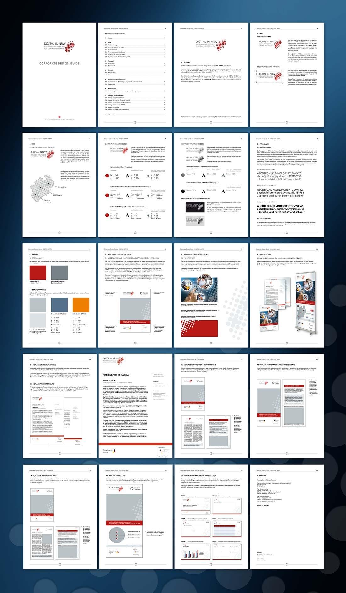 Design Manual als Grundlage für alle Medien
