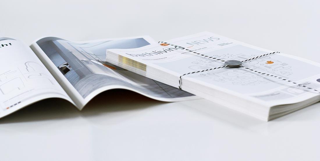 Werbemedium im Newspaper-Format
