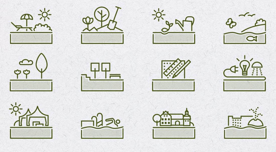 Entwicklung eines Icon-Set