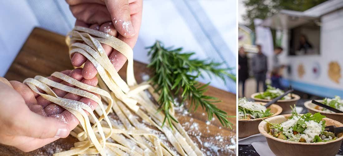 Pasta-Produktion