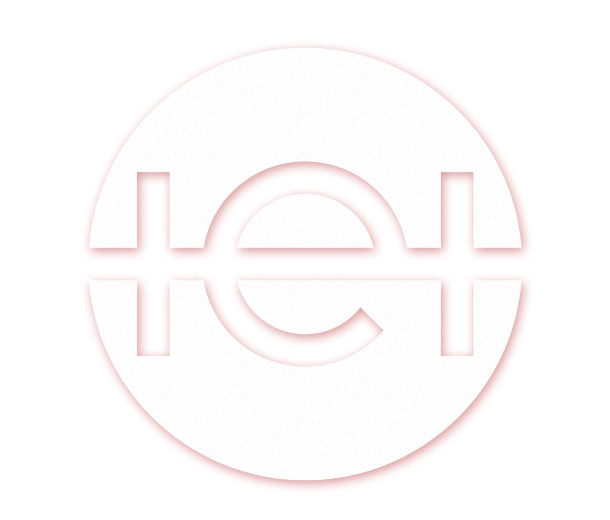 Agentur-Logo mit Effekt
