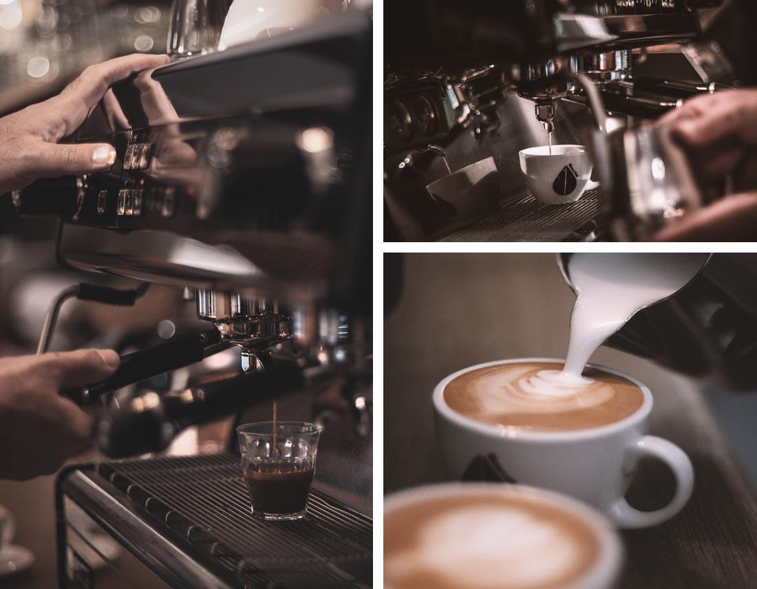 Kaffee, Espresso, Milchschaum