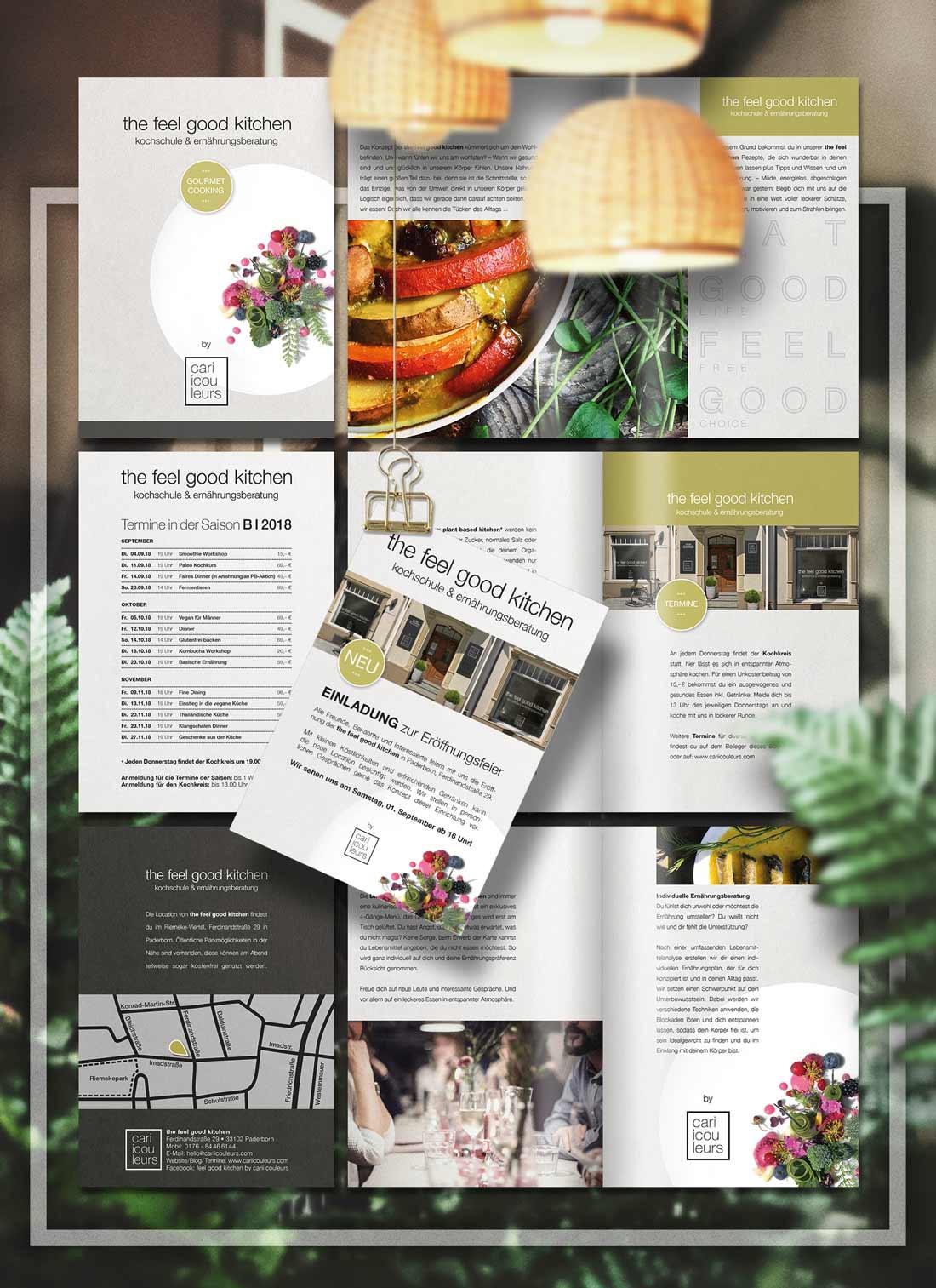 Prospekt, Flyer, Booklet und Einladung
