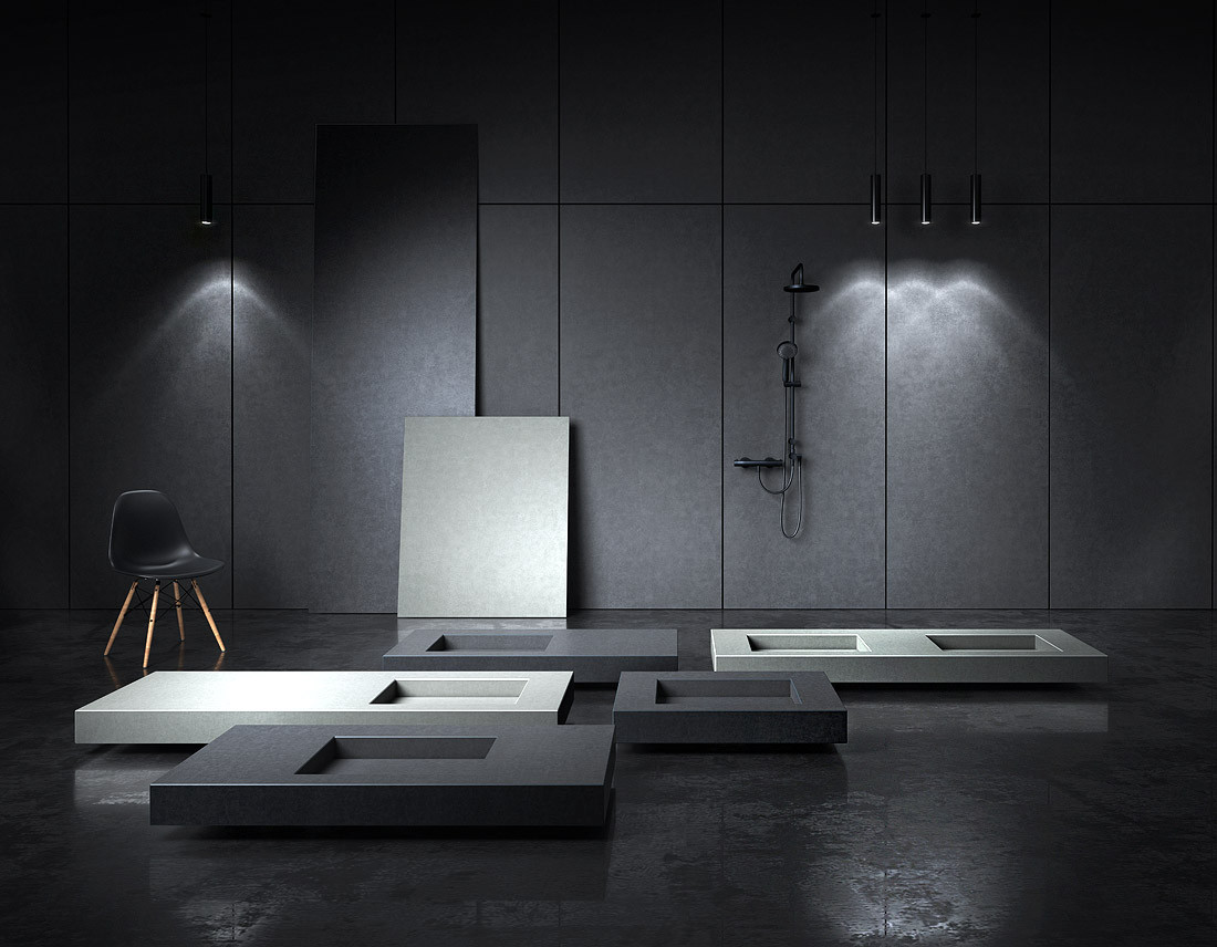 Rauminstallation Produktdesign QUARTON
