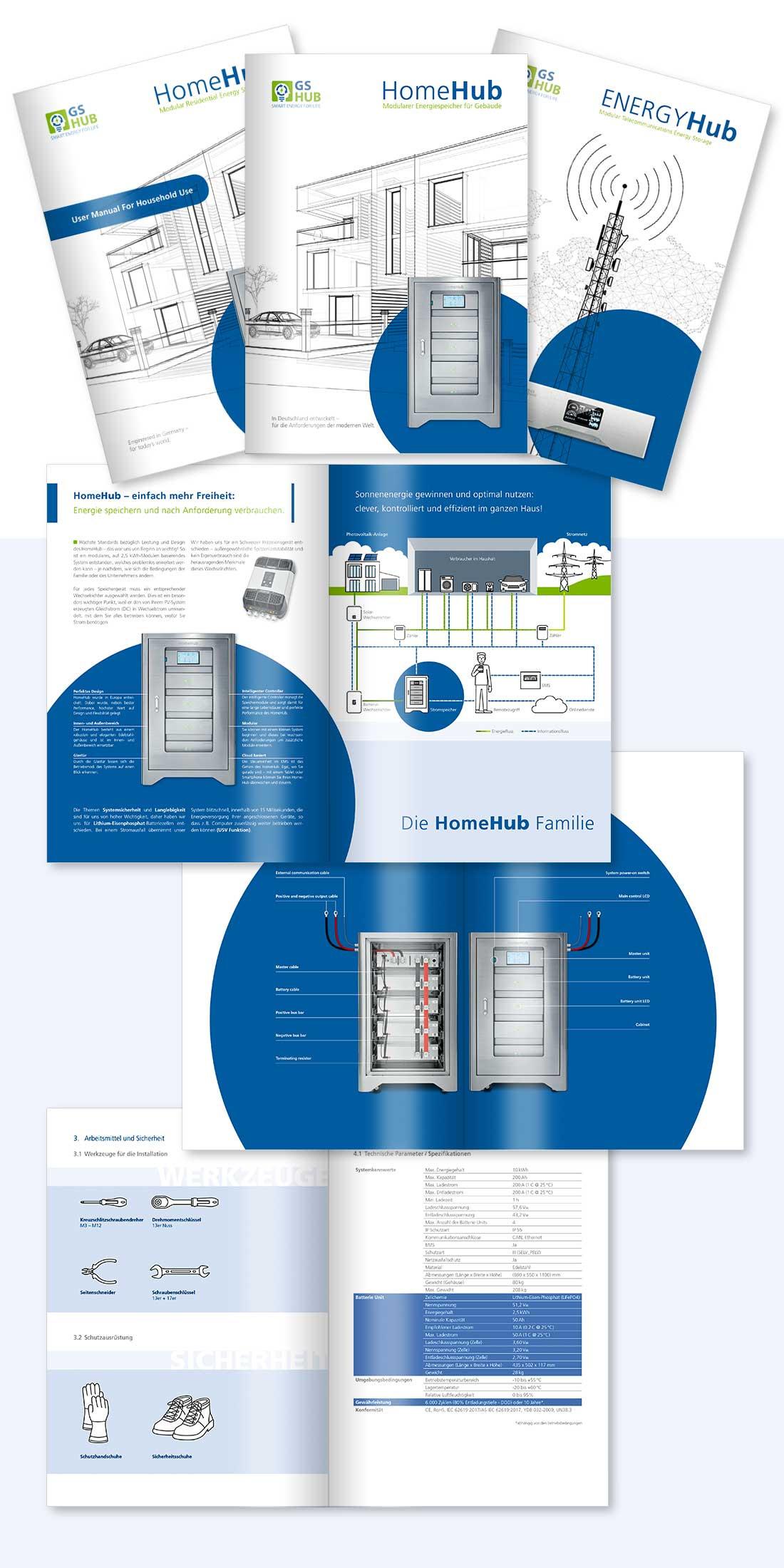 Imagebroschüre und Installationsanleitung