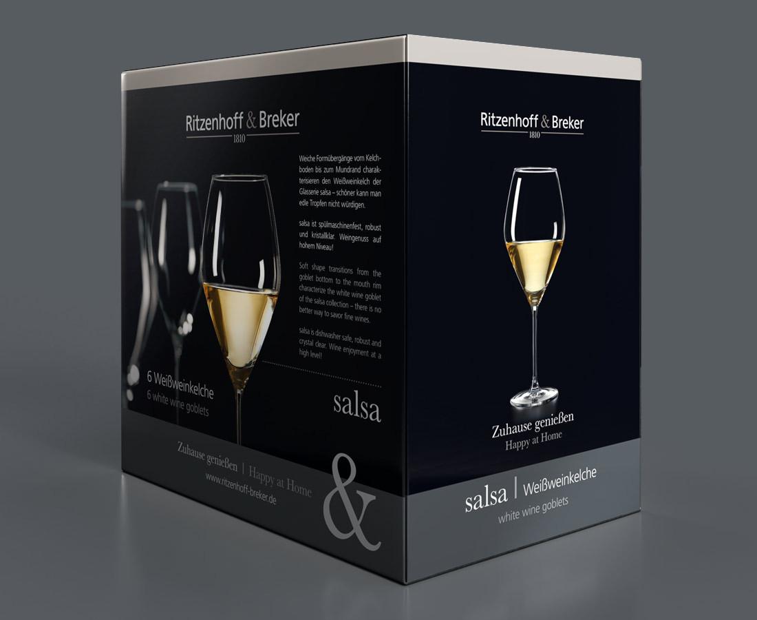 Weinglas-Set von Ritzenhoff & Breker